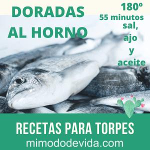 DORADAS AL HORNO min - Recetas para torpes