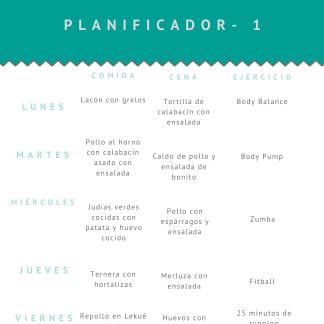 Planificador semanal 1