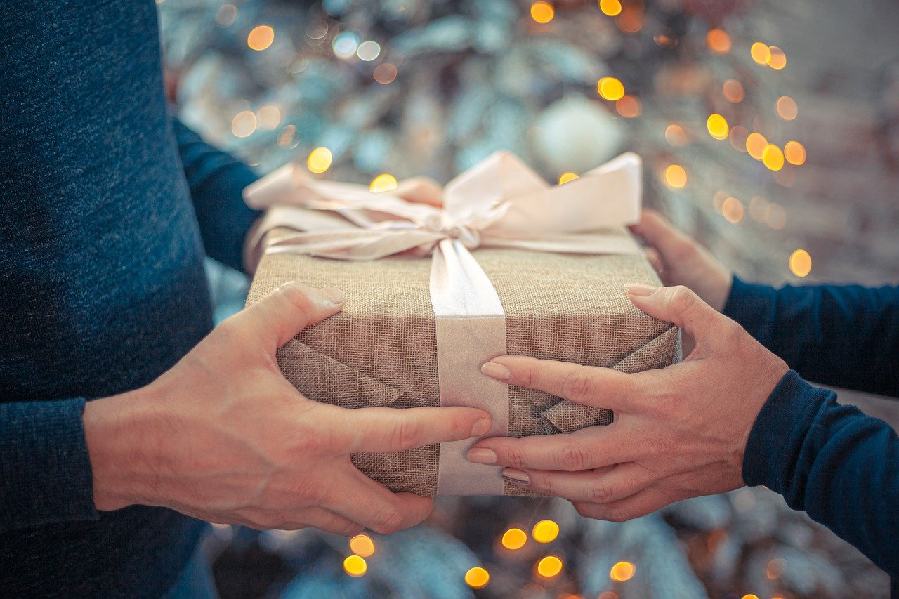 gift, new year's eve, congratulation