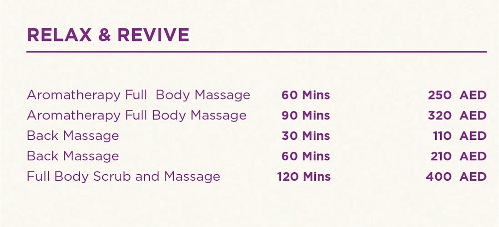Full Body Massage - Back Massage