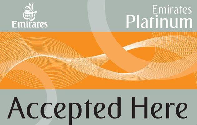 Emirates Platinum Card offers