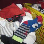 El juego de los calcetines: estimulación y psicomotricidad