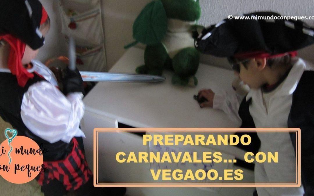 Preparando Carnaval… con Vegaoo