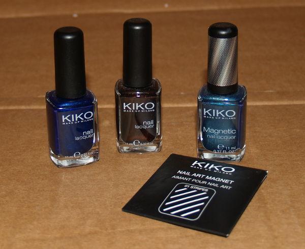 Esmaltes de uñas Kiko