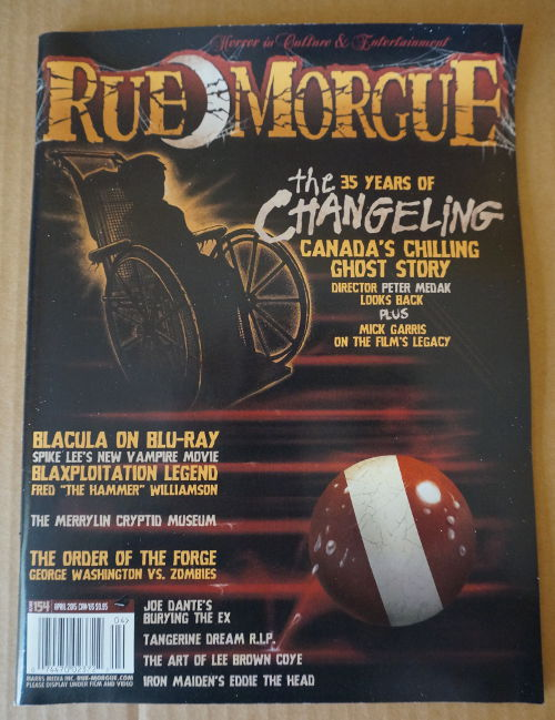 Horror Block magazine