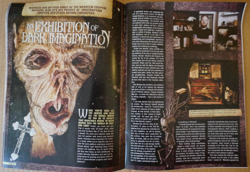 Artículo de la revista de Horror Block