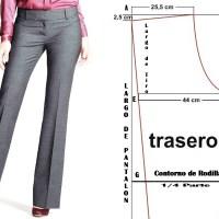 Confeccion Pantalón de dama Aprende Costura!