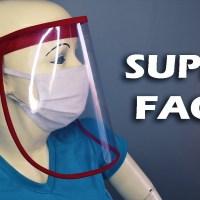 Como hacer un protector facial bonito y barato