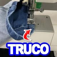 ¡ TRUCO para coser grueso en maquina familiar