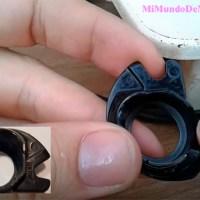 Como ajustar el porta bobina y su tension
