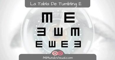 Tabla De Tumbling E - mimundovisual.com