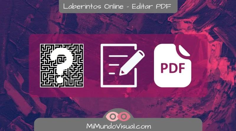 Laberintos Online - Ejercicios Visuales - mimundovisual.com