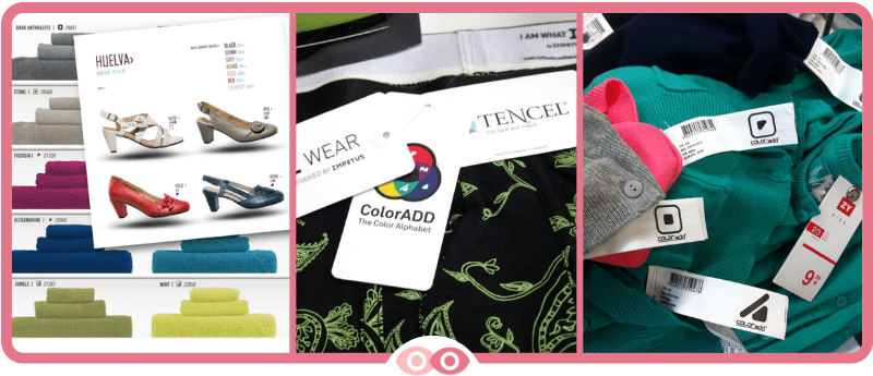 ColorADD en la etiqueta de la ropa - mimundovisual.com
