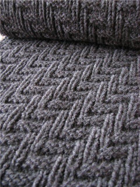 Snake Scarf Pattern Knitting