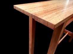 Oak concsole table