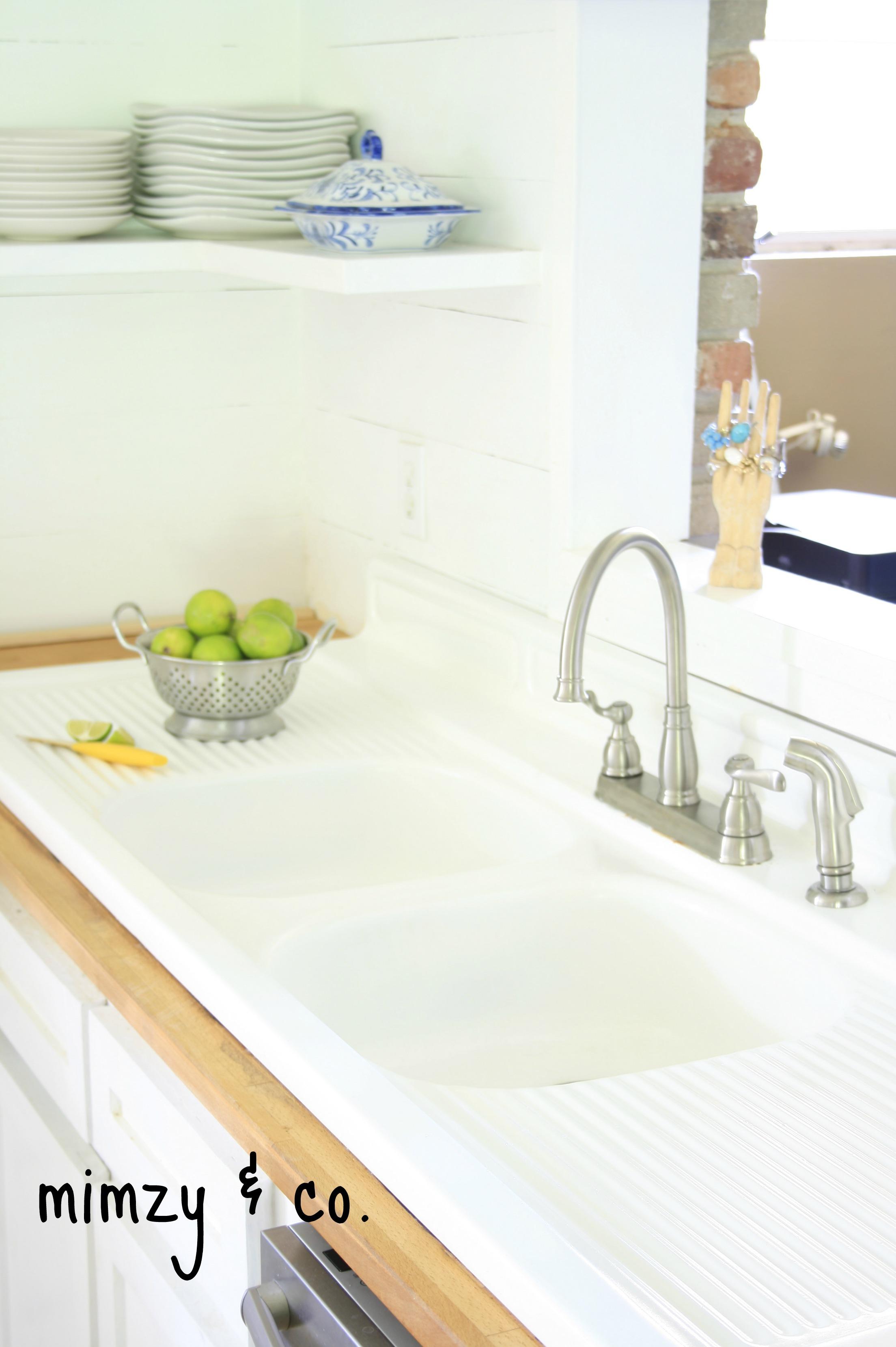 vintage cast iron kitchen sink