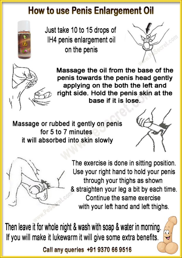 How To Use Penis Massage Oil
