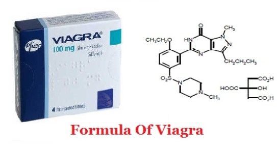 Structural Formula Of Viagra