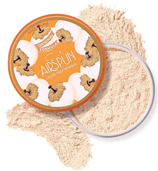 Loose Face Powder, for Setting Makeup