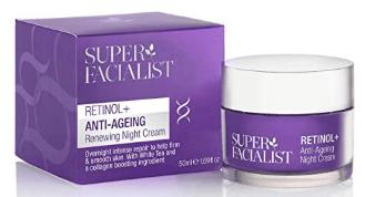 Super Facialist Retinol+ Anti-Ageing Night Cream