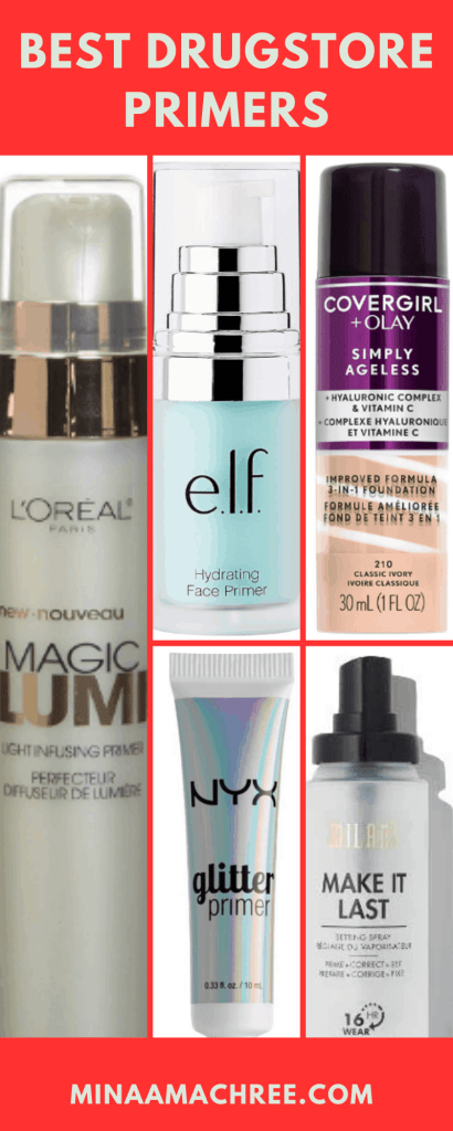 Best Drugstore Primers Makeup