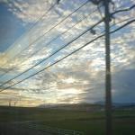 近鉄電車からの眺め