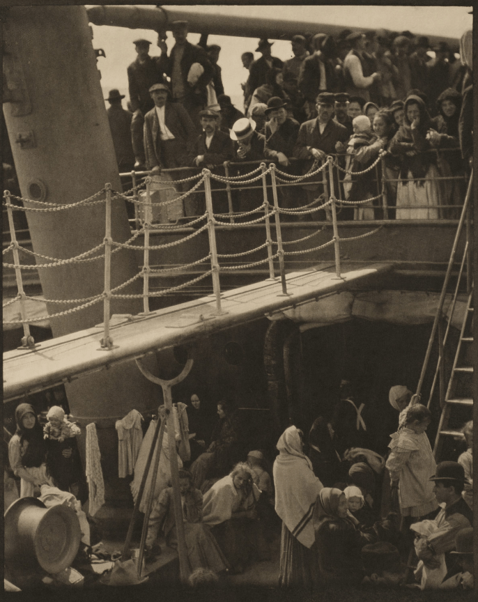 Alfred Stieglitz. The Steerage (1907).