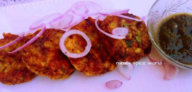 Vegetarian Galouti kebab || Rajma Galouti kebabs