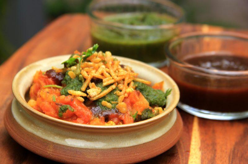 Tamatar ki Chaat- An Indian Street Food