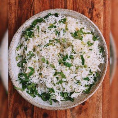Coriander fried rice