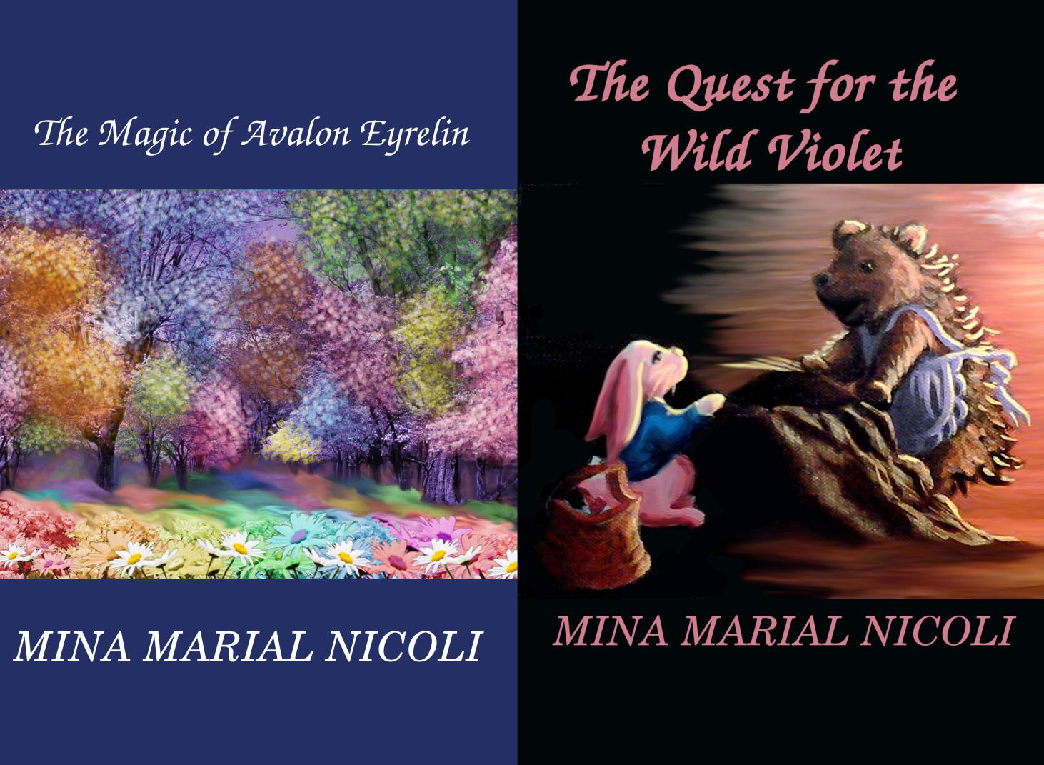 The Magic of Avalon Eyrelin and The Quest for the Wild Violet Free eBook Promo! 10/14-10/18