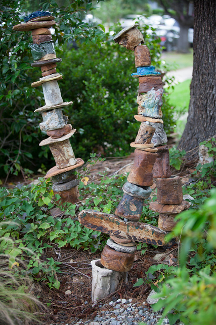 Garden Art - Totems