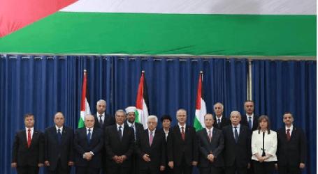 ROMBONGAN MENTERI KABINET BERSATU PALESTINA TIBA DI GAZA