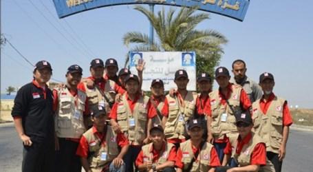 DIKAWAL TANK MILITER MESIR, RELAWAN MER-C TIBA DI JALUR GAZA