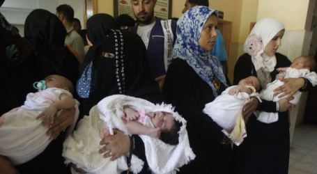 CUACA EKSTRIM RENGGUT NYAWA BAYI DI GAZA