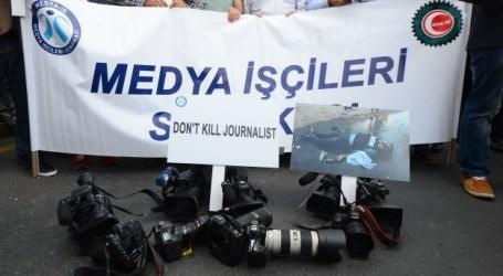 SERIKAT MEDIA TURKI PROTES ISRAEL BUNUH WARTAWAN