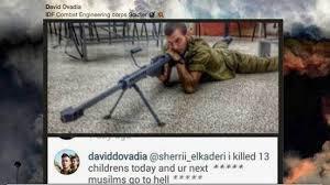 SNIPER ISRAEL  AKUI BUNUH 13 ANAK PALESTINA/HARI