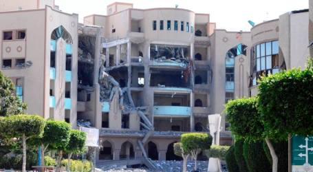 ISRAEL HANCURKAN UNIVERSITAS TERBESAR JALUR GAZA