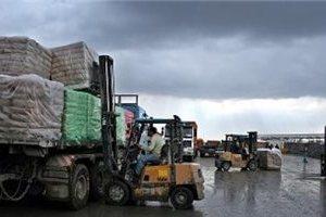 Bahan Konstruksi Masuk Gaza