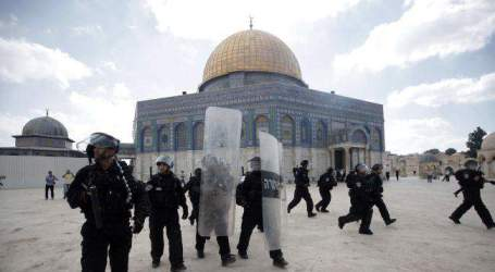 500 WARGA GAZA RAYAKAN IDHUL ADHA DI MASJID AL AQSA
