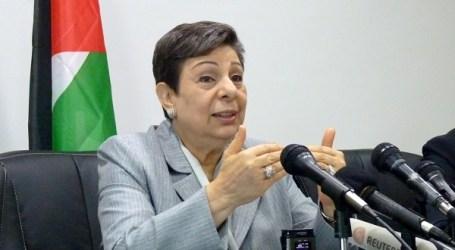 Ashrawi: Mengakhiri Pendudukan Israel Jalan Perdamaian Palestina