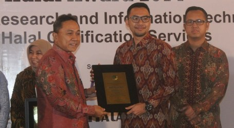 COCA COLA INDONESIA RAIH HALAL AWARD 2014