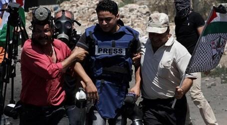 STATISTIK: 308 PELANGGARAN ISRAEL TERHADAP JURNALIS SELAMA 2014