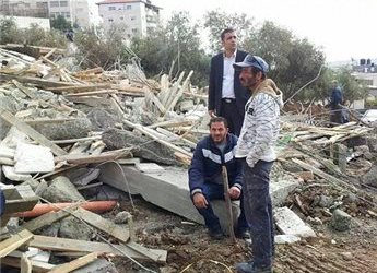 LAGI, ISRAEL HANCURKAN BANGUNAN DI AL-QUDS