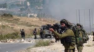PEMUDA PALESTINA BENTROK DENGAN PASUKAN ISRAEL DI NABLUS