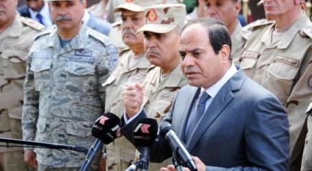 PRESIDEN MESIR: TIDAK ADA PASUKAN DARAT DIKERAHKAN DI YAMAN