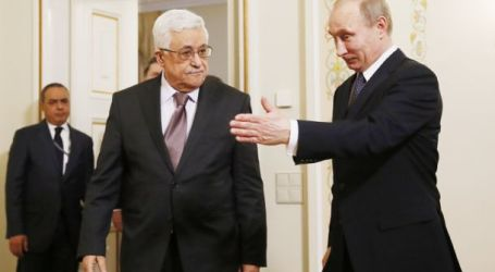 Presiden Putin Akan Temui Abbas Bahas Perdamaian