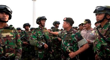PANGLIMA TNI PANTAU PERSIAPAN AKHIR SATGASPAM VVIP KAA