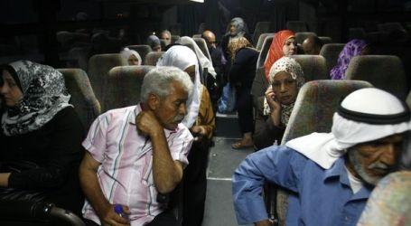 SEJUMLAH 49 KELUARGA GAZA KUNJUNGI KERABAT DI PENJARA ISRAEL