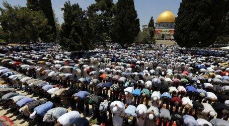 ISRAEL LARANG WARGA GAZA BERIBADAH DI AL-AQSHA JUMAT DEPAN